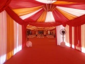 tenda pernikahan besar